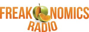 The logo for Freakonomics Radio, a podcast explaining the 'why' behind all things economics, which often brings you into all other industries where 'the market' may exist.