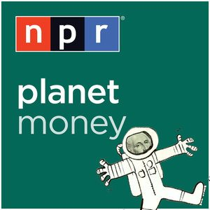 The logo for NPR's Planet Money, a podcast diving deep into financial information, situations, and problems. A great resource if you're interested in finance and are always wondering why things are the way they are.